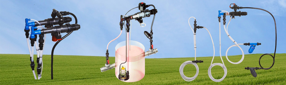 Fertilizer & Chemical Injectors