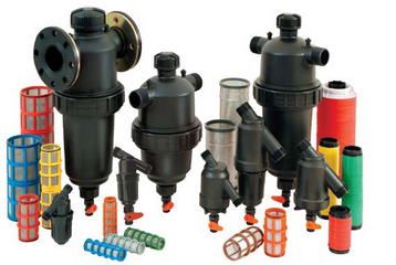 Screen filters for irrigation systems - high pressure