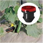 Katif dripper, for self mounting drip irrigation